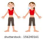 deep breathing   Shutterstock .eps vector #156240161