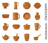Earthenware And Ceramic Vector...