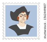 christopher columbus famous...   Shutterstock .eps vector #1562449807