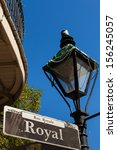 Royal Street Sign In The Frenc...