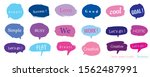 hand drawn set of colorful... | Shutterstock .eps vector #1562487991