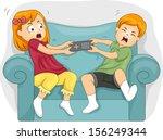 illustration of sibling... | Shutterstock .eps vector #156249344