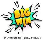 big win trophy prize cartoon...   Shutterstock .eps vector #1562598337