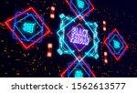 black friday sale background... | Shutterstock . vector #1562613577