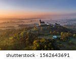 Kunetice Mountain Sits In A...