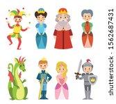 fairy fantasy clip art... | Shutterstock .eps vector #1562687431