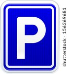 parking | Shutterstock .eps vector #156269681