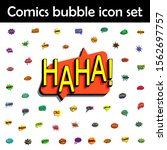 Comic Speech Bubble With...