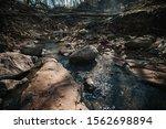 A Muddy Shallow Ravine ...