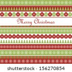 christmas greeting card. raster ... | Shutterstock . vector #156270854