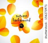 autumn background | Shutterstock .eps vector #156273971