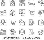 Set Of Shopping Online Icons ...