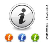 info button in four colors | Shutterstock .eps vector #156288815