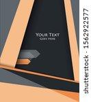 annual report  brochure  flyer... | Shutterstock .eps vector #1562922577