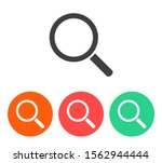 search magnifying glass icon.... | Shutterstock .eps vector #1562944444