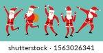 Cute Dancing Santa Claus Set...