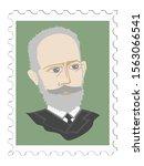 pyotr tchaikovsky famous...   Shutterstock .eps vector #1563066541