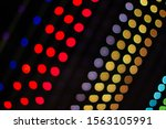abstract colorful light... | Shutterstock . vector #1563105991