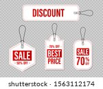 set of sale tags and labels ... | Shutterstock .eps vector #1563112174