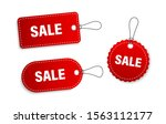set of sale tags and labels ... | Shutterstock .eps vector #1563112177