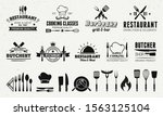 set of badges and labels... | Shutterstock .eps vector #1563125104