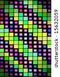 colorful squares pattern... | Shutterstock . vector #15632059