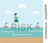 risky | Shutterstock .eps vector #156320999
