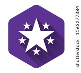 white star icon isolated with...