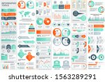 bundle infographic elements...