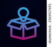 box idea lamp nolan icon....