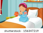 adorable,bed,bedroom,cartoon,child,clip-art,clipart,cute,drawing,female,girl,going to bed,home,illustration,indoor