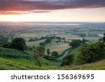 idyllic rural  cotswolds ...