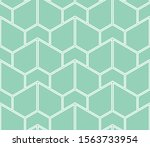 the geometric pattern with...   Shutterstock .eps vector #1563733954
