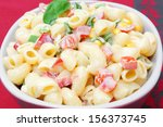 Macaroni Salad On Table