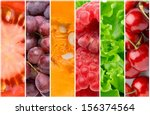 healthy food backgrounds | Shutterstock . vector #156374564