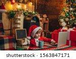 Santa Helper Baby Boy With...