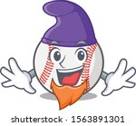 Cartoon Baseball With In A...