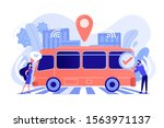 passengers like and approve... | Shutterstock .eps vector #1563971137