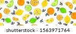 seamless bright light pattern... | Shutterstock .eps vector #1563971764