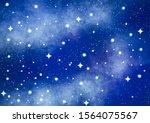 Galaxy Background Illustration...