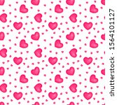 seamless pattern with... | Shutterstock . vector #1564101127