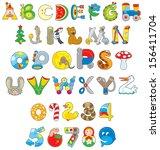 English Alphabet And Numerals...