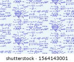 the law of centrifugal force of ... | Shutterstock .eps vector #1564143001