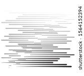 speed lines in arrow form .... | Shutterstock .eps vector #1564152394