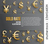 Currency Symbol In Gold Color...