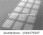 realistic window light and... | Shutterstock .eps vector #1564179247