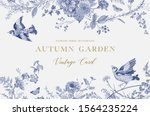 Autumn Garden. Vector...