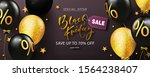 black friday sale poster with... | Shutterstock .eps vector #1564238407