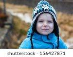 Portrait Of Little Boy Of Two...