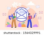 mail protection  safety from...   Shutterstock .eps vector #1564329991
